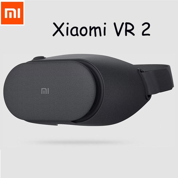 Wholesale- 2017 Newest Original Xiaomi VR Play 2 Immersive Virtual Reality 3D Glasses for 4.7-5.5 inch 1080P Smart Phones Controller option