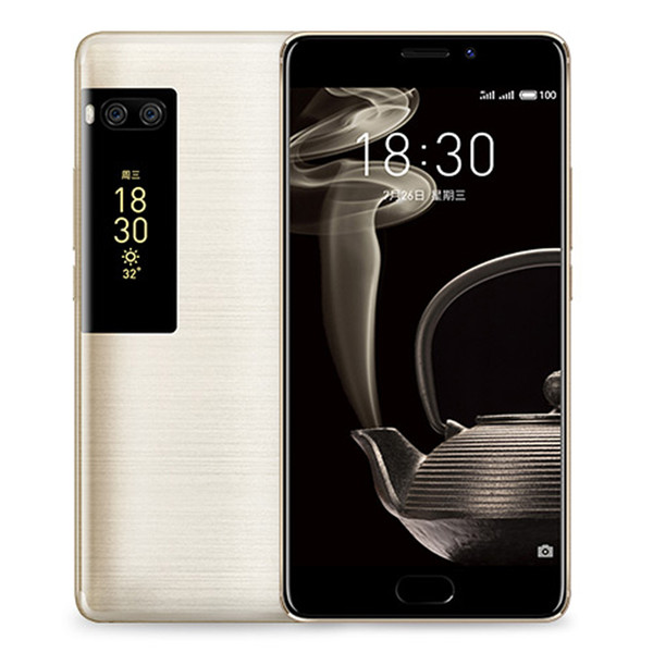 "Original Meizu Pro 7 Plus 6GB RAM 64GB ROM 4G LTE Mobile Phone MTK Helio X30 Deca Core 5.7"" 2K Screen 2.5D Glass Dual Rear 12.0M Cell Phone"