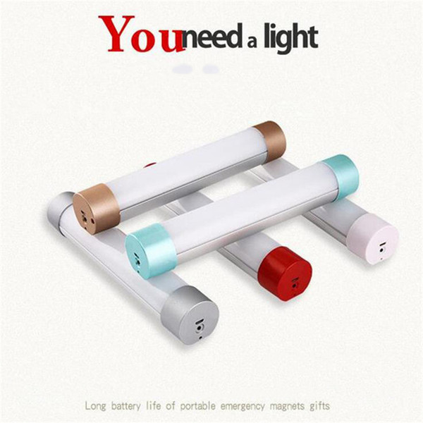 Lampada da campeggio esterna Indoors Emergenza Mobile da lavoro LED Night Light IP68 USB Carica lampada a risparmio energetico