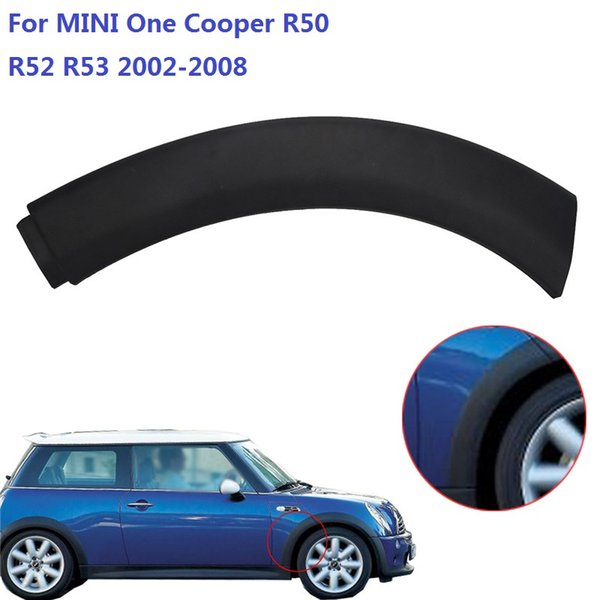 Wheel Housing Trim On Fender Flares Wheel Arch Guard Trim Cover Front Right For BMW MINI One One D Cooper S R50 R52 R53