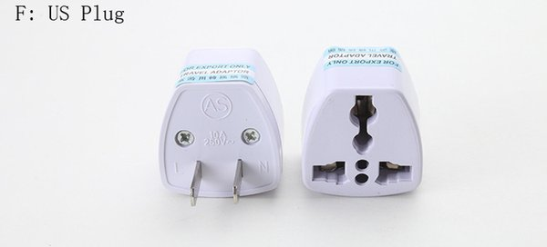 top popular 3 Pin AC Power Plug Adaptor Connector Universal Travel Adapter AU US EU to UK Adapter Converter 2020