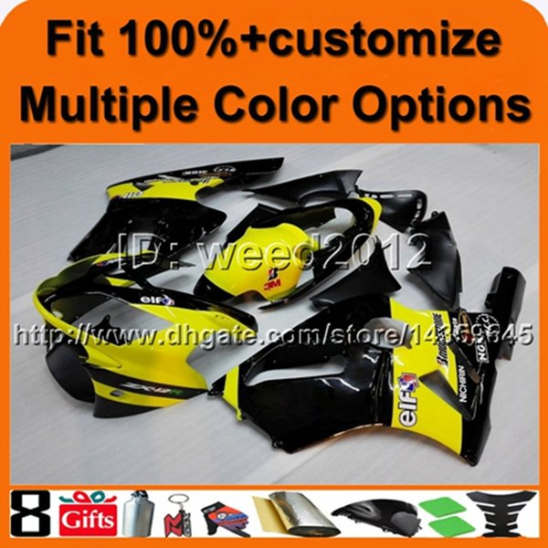 23colors+8Gifts Injection molding Tank cover YELLOW black ABS article ZX12R 2002 2003 2004 aftermarket motorcycle fairing for Kawasaki Ninja
