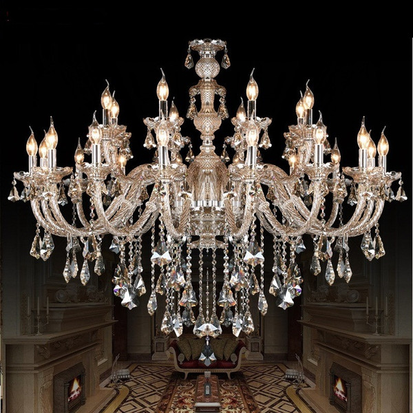 crystal chandelier lamp Fashion Room chandelier modern crystal light candle home lighting bedroom living room light crystal