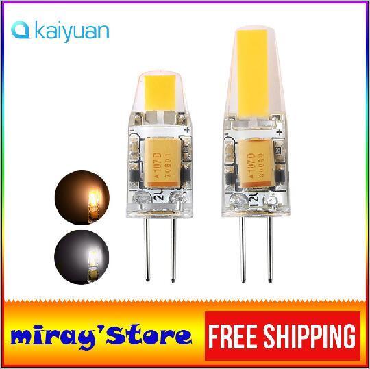 Vendita di fabbrica G4 LED Dimmerabile 12V AC / DC COB Luce 3W 6W LED G4 COB Lampada Lampadina PER Lampadari LED luce