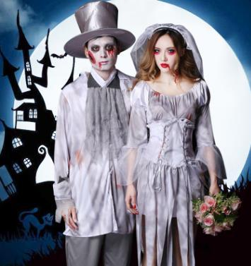Bride And Groom Halloween Costume.Promotion Dance In Pattaya Bar Halloween Party Cosplay Ghost Dance The Bride And Groom Take 8510 Performances Family Halloween Costume Halloween