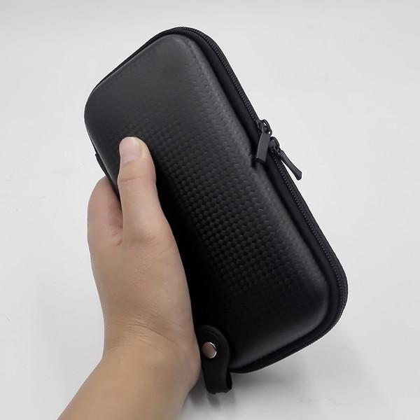 X6 KTS Funda con cremallera bolsas Dual ego x6 sin logotipo bolsa de cigarrillo electrónica para caja mod RDA vaporizador de vaporizador RBA jig accesorio vape