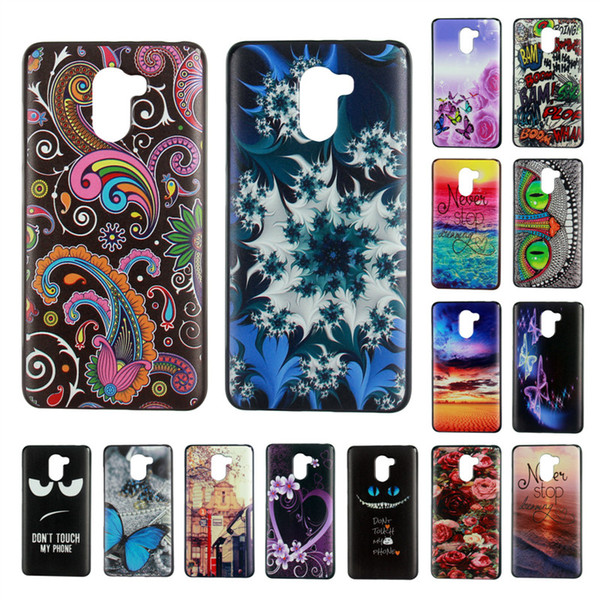 Free Shipping Color Painted TPU Case for Wileyfox SPARK Wileyfox Swift 2 2Plus Cell Phone Case Back Cover
