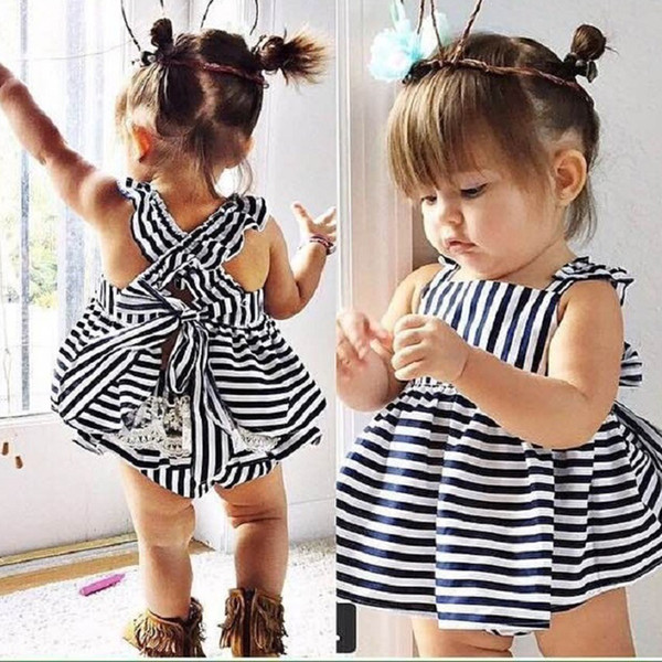 Hot Sell Baby Kids Clothing Adorable Girls Clothes Princess White Blue Dress + PP Pans 2pcs Sets Babies Tops Pants Outfits