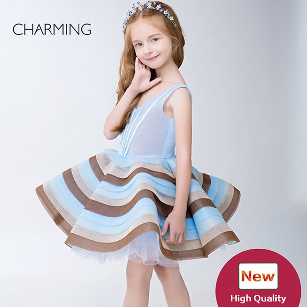 Prom and pageant dresses high quality Designer kids dresse s Dresses for flower girls pageant dresses Chinese wholesalers