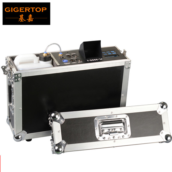 top popular High Effect High Quality New Arrival Flight Case Packing 1300W Haze Fog Machine for Stage Equipment with Fog Liquid Water Based 110V 240V 2021