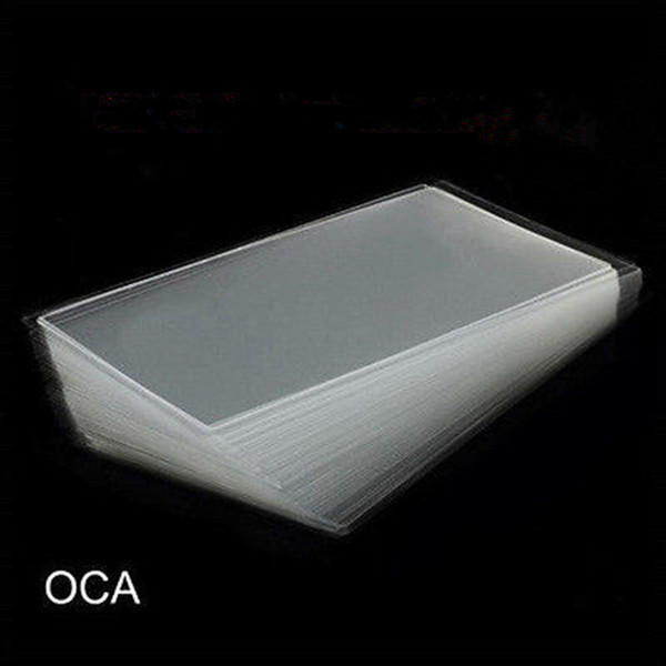 1000 STÜCKE 250um Dicken OCA Optischen Klaren Kleber Aufkleber Für iPhone 5 5 s 6 7 8 Plus X LCD Touchscreen Außenglas