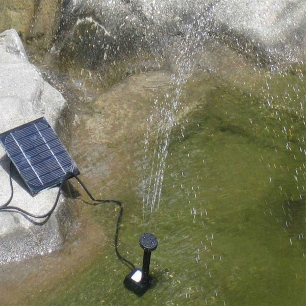Square Shape Solar Panel Water Pump Kit Fountain Pool Garden Pond Submersible Watering Bird Bath Tank Set Drop Shipping New Hot