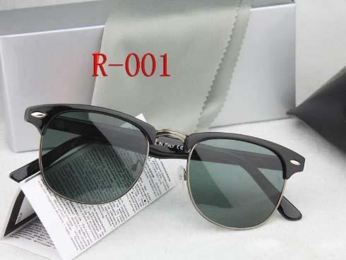 Brand design 2019 Hot sale half frame sunglasses women men Club Master Sun glasses outdoors driving glasses uv400 Eyewear whit brown case