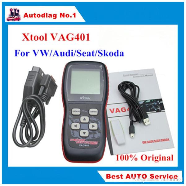 Original XTOOL VAG401 OBD2 Diagnostic Scanner For VW/Audi/Skoda/Seat VAG 401 OBDII Code Reader ABS SRS Engine Update