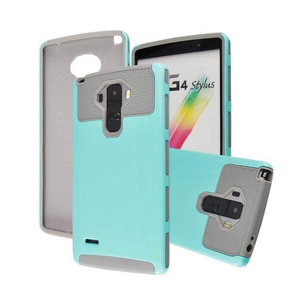 Hybrid cell phone Cover Case for LG G4 Stylus G4 note K7 LEON C40 LS770 Hard Back cover