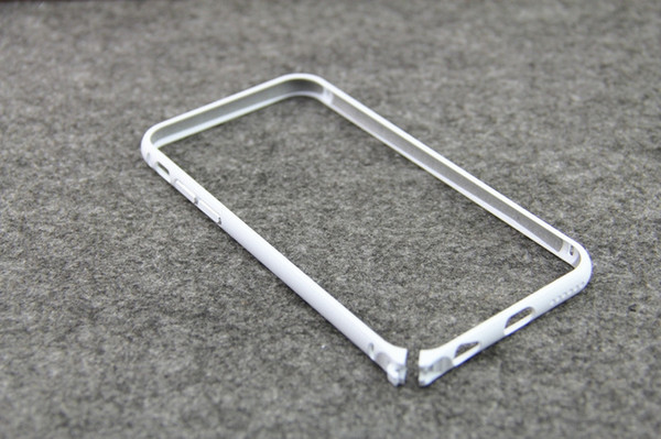 Luxury Aluminum Metal Bumper Rapier Serie Case For iphone 5 5S 5G 6G 4 inch Round Edge Shape Frame Phone Cover