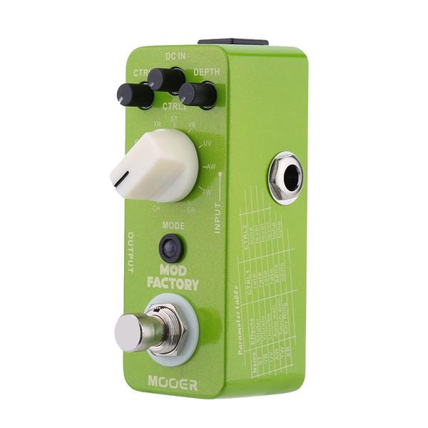 Mooer Mod Factory Micro Mini Guitarra Eléctrica Modulación Efecto Pedal True Bypass Alta Calidad Guitar Parts Accessories