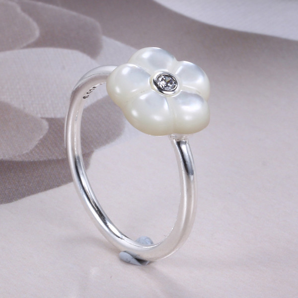 100% S925 Ale Not Plated Pandora Ring For Valentineu0027s Day Luminous Flower  Sterling Sliver Pandora