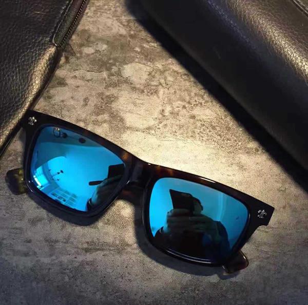 Men Square Pilot Sunglasses Sonnenbrille des lunettes de soleil luxury Designer glasses Gafas de sol New with box