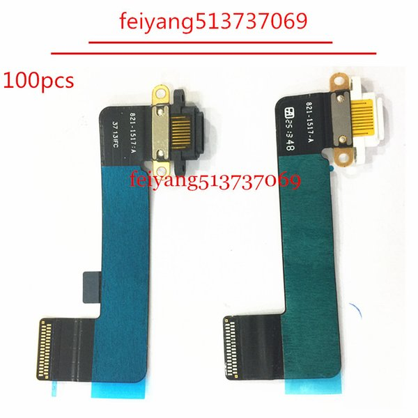 100pcs Original Charging Port Dock Connector Flex Cable USB Plug Charger Board Replacement For iPad Mini 4