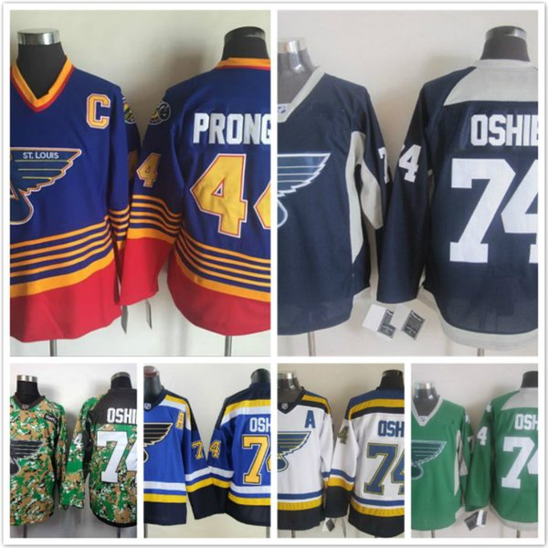 timeless design aacad f86d7 2018 Vintage St.Louis Blues 44 Chris Pronger 74 Tj Oshie White Blue  Stitched Ice Hockey Jerseys From Tradeleadercn, $25.13 | Dhgate.Com