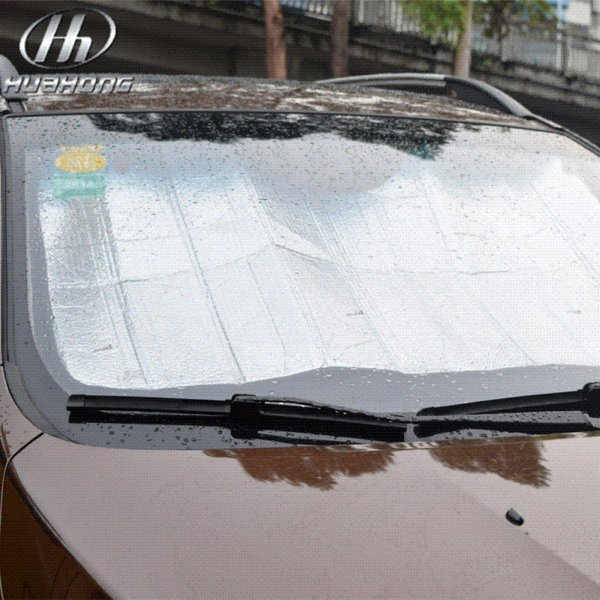 Nuances réfléchissantes pliables pour voiture Pare-brise auto Parasol pare-soleil Pare-brise pare-brise Visière Dashboard Cover Block Heat Reflective