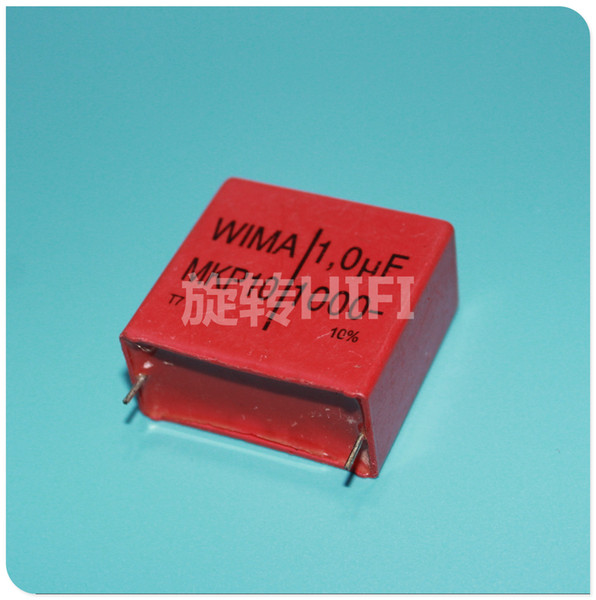 10PCS WIMA MKP10 1u 1UF 105/1000v New for audio coupling capacitor p37 free shipping