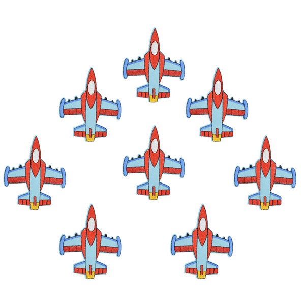Diy Aircraft patches for clothing iron embroidered patch applique iron on patches sewing accessories badge stickers on clothes DZ-152