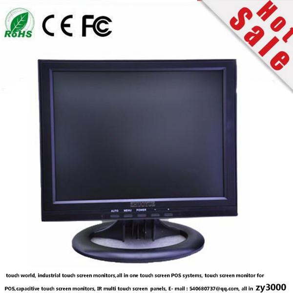 top popular new stock wholesale 12 inch 4:3 1024*768 LED 3 BNC 1 vga 1 HDMI DC 12v input CCTV monitor 2019