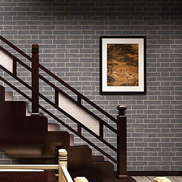 großhandel großhandels-chinesische art-3d ziegelstein-vinyltapeten, Wohnzimmer