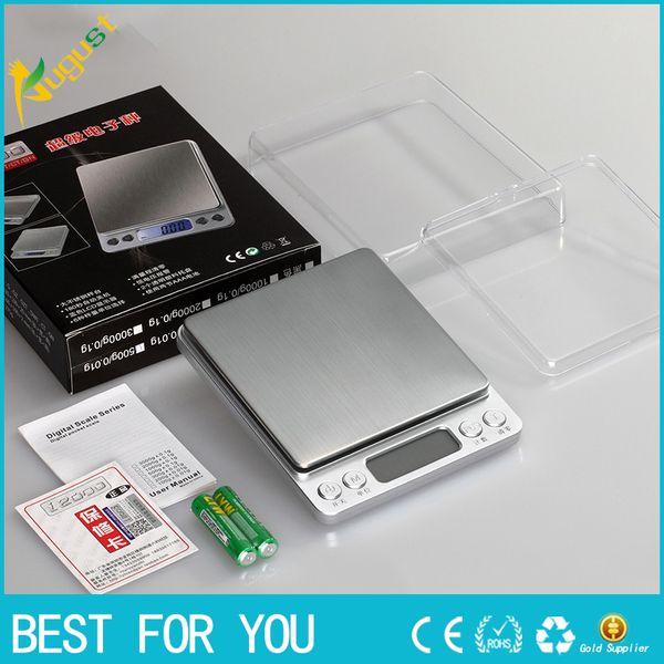 Balanzas electrónicas digitales dice 0.01g balanza de joyería balanza de cocina electrónica mini panadería llamada escalas precisa 0.1 gramos de mini escala nueva