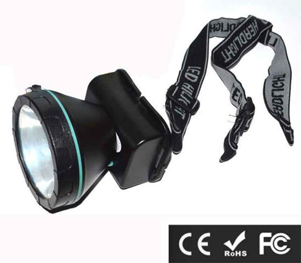5W LED Headlight Headlamp Head Lamp Mineral Lamp 1800LM Focus For Mine Work Fishing Bicycle ridding Camping Hiking Free Shipping