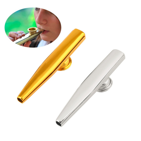 best selling Metal Kazoo Harmonica Mouth Flute Kids Party Gift Kid Musical Instrument