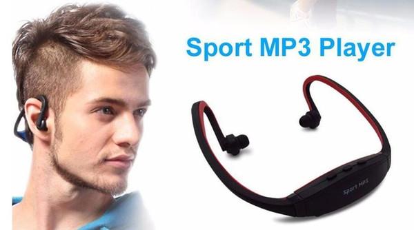 Sport MP3 Player Wireless Headset Headphones Music Player Neckband Headset Support Micro SD/TF Card + FM Radio