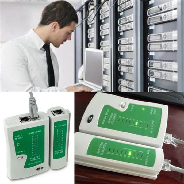 2016 Hot RJ45 RJ11 RJ12 CAT5 UTP Network LAN USB Cable Tester Remote Test Tools