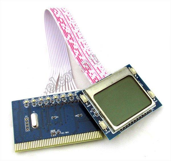 PCI LCD Diagnostic Post Debug Test Card For Desktop Motherboard PTI9 R179