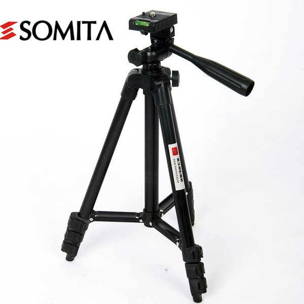 New Brand 2017 4 Section Portable Professional Camera Tripods with Tripod Head Hot Sale Stability Aluminum Tripod wt3116