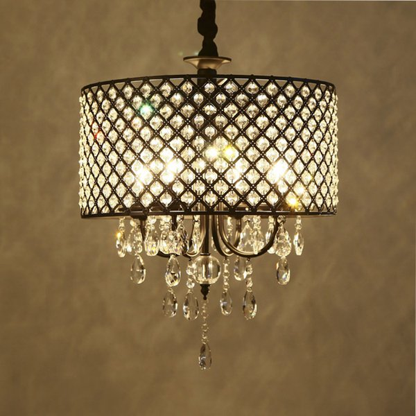 Nordic American Crystal Chandelier Crystal Crystal Chandeliers Cheap Lights  Iron Living Room, Dining Room, Bedroom Light Contemporary Chandeliers ...