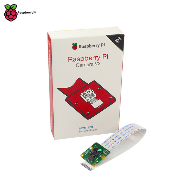 Freeshipping Official Raspberry Pi Camera V2 Module with Sony IMX219 Light-sensitive Chips 8MP Pixels 1080P Video Original RPI 3 Camera