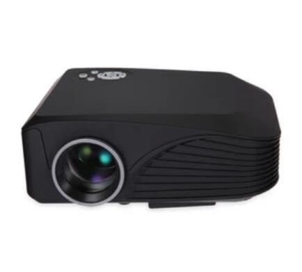 New H88 LED Projector 1000 Lumens Projector 1080P Projection Machine with USB HDMI VGA AV Micro SD Slot Remote Controller Mini Cool DHL