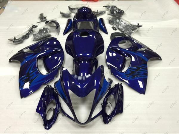 Fairing Kits Gsx 1300R 2012 Bodywork HAYABUSA 2008 Black Blue Body Kits GSX R1300 2011 2008 - 2014