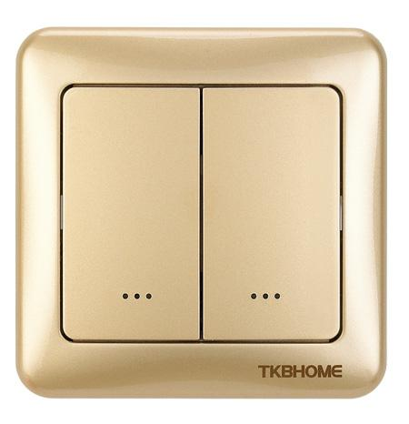 TZ35D 80*80mm frame gold