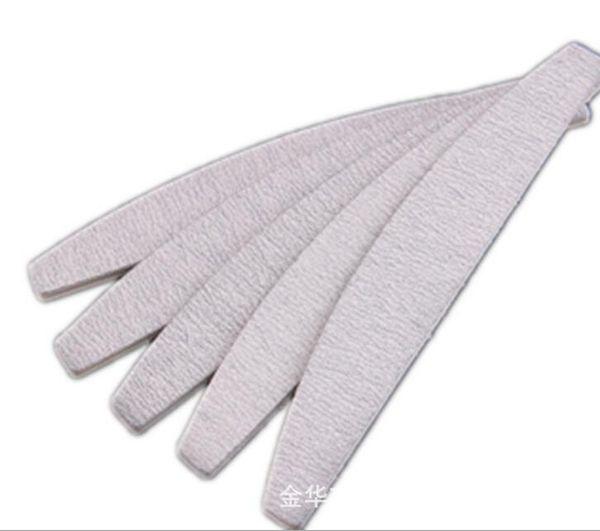 Wholesale- 50Pcs 2-Sides Zebra Moon Nail Art Sanding Files Polish Acrylic Block Buffer Manicure Tips #150, Free shipping ( NB014-F2100)