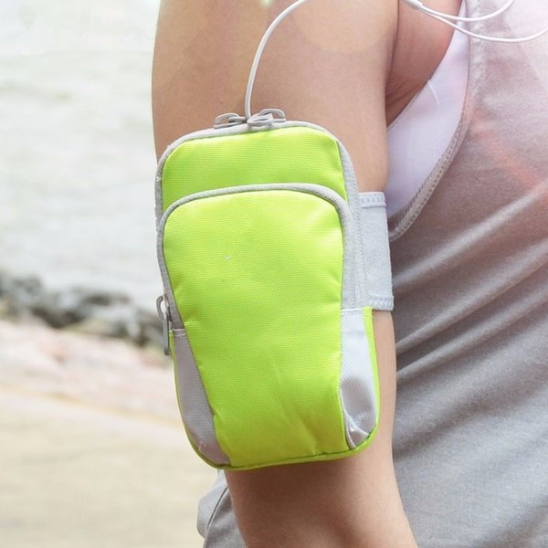 Universal Sport Armband Fall mit Reißverschluss Fitness Running Arm Band Tasche Jogging Workout Cover für Handy Smartphone
