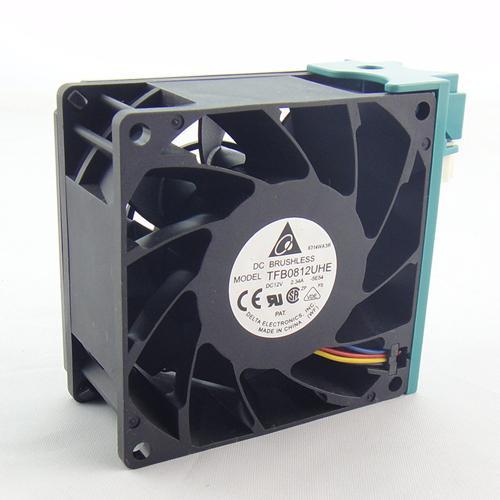 Original Delta TFB0812UHE 8CM 80MM 8*8*3.8CM 80*80*38MM 8038 12V 2.34A For R525 G2 fan SR2625UR server inverter cooling fan