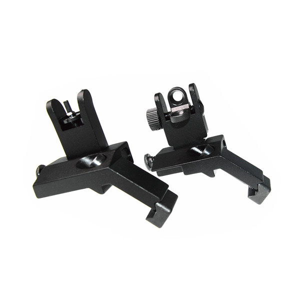 New arrival tactical RTS AR15 M6 Front and Rear 45 Degree Rapid Transition Iron Rear Sight Scope Mount Black ht404