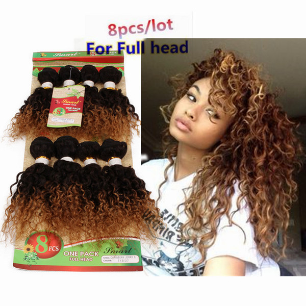 250g kinky curly 8 bundles 14-20inch black human hair extensions ombre brown,bug 8inch loose wave deep curly Brazilian human braiding hair