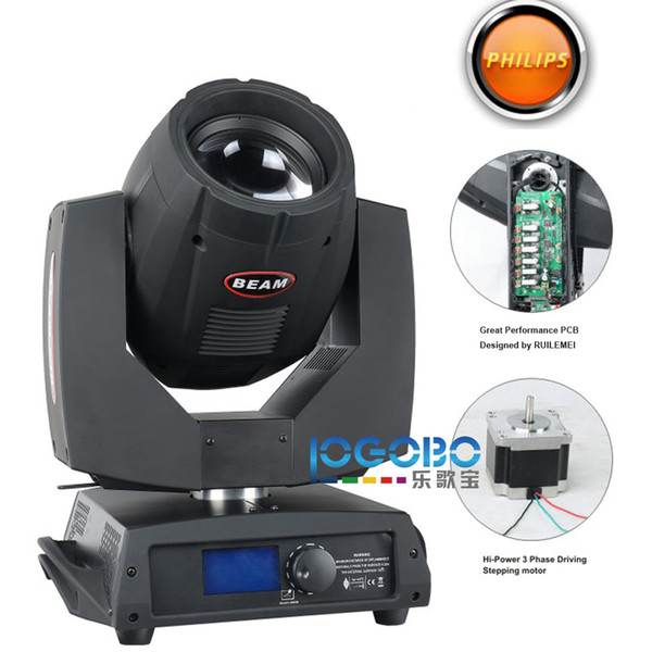 Professional Sharpy Light Beam 5R 200 Moving Head Beam Prism Frost Gobo Effect Studio Stage DJ Effect Lighting Equipment Packages, 2Pcs/Lot