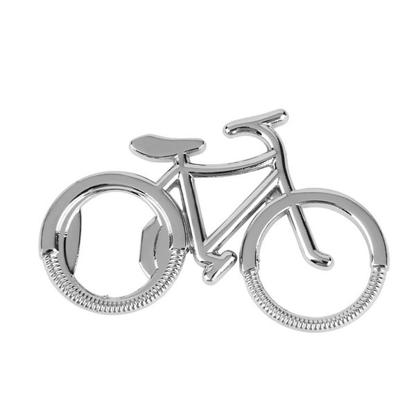 Wholesale Hot Useful Cute Fashionable Bike Bicycle Metal Beer Bottle Opener Keychain Creative Gift Free Shipping