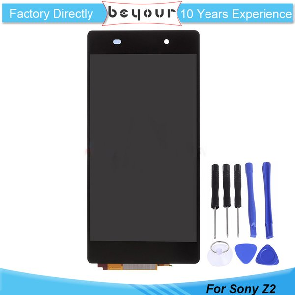 Grade A+++ For Sony for Xperia Z2 L50W D6502 D6503 D6543 LCD Screen Display Touch Screen Digitizer assembly without frame